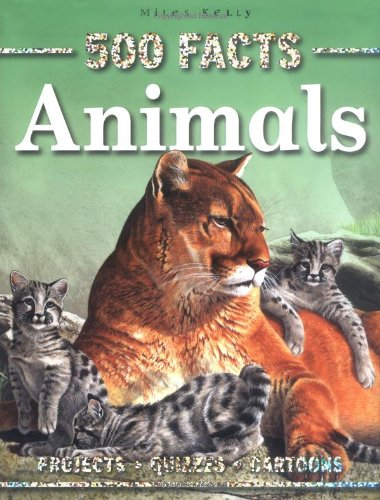 9781848101999: 500 Facts Animals