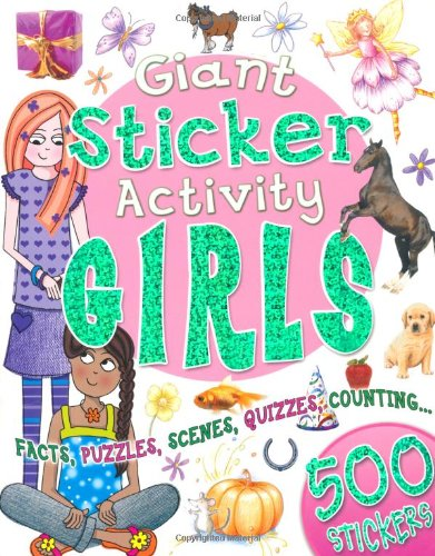 Giant Sticker Activity Girls: Miles Kelly