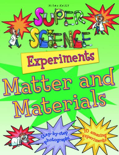 9781848103139: Matter & Materials (Super Science Experiments)