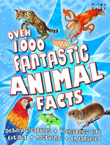 9781848105430: Over 1000 Fantastic Animal Facts