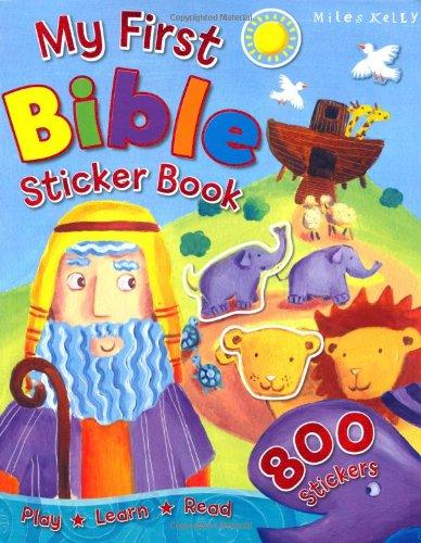 9781848108806: My First Bible Sticker Book