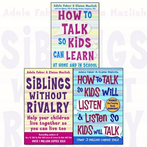 9781848125209: How To Talk So Kids and Teens Will Listen To Parent Collection 3 Books Set (Series 1)