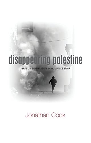 9781848130302: Disappearing Palestine: Israel's Experiments in Human Despair