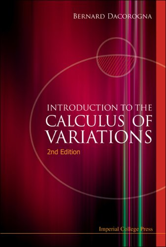 9781848163331: Introduction to the Calculus of Variations