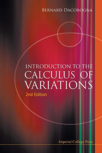 9781848163348: Introduction To The Calculus Of Variations (2Nd Edition)