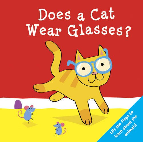 9781848170704: Does a Cat Wear Glasses? (Who Does What Flap Books)