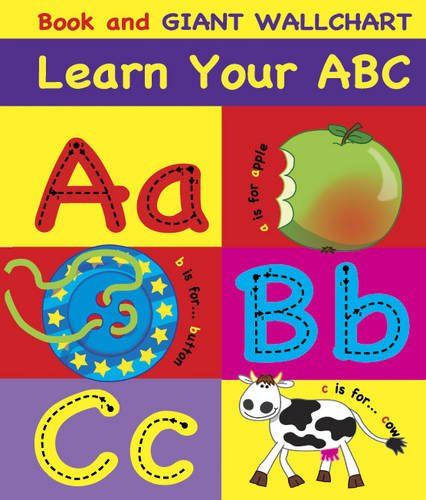 9781848170803: Learn Your ABC: Book and Giant Wallchart (Book and Wallchart)