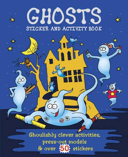 9781848171527: Scary Activity: Ghosts (Giant Sticker & Activity Fun)