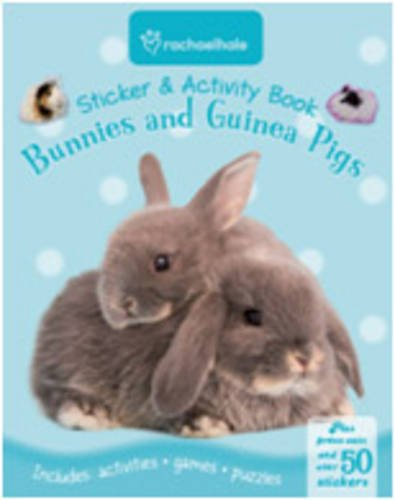 9781848174399: Rachael Hale Sticker and Activity: Bunnies and Guinea Pig (Sticker and Activity Book)