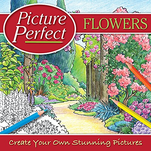 9781848174559: Adult Colouring - Flowers: Create Your Own Stunning Pictures (Picture Perfect)