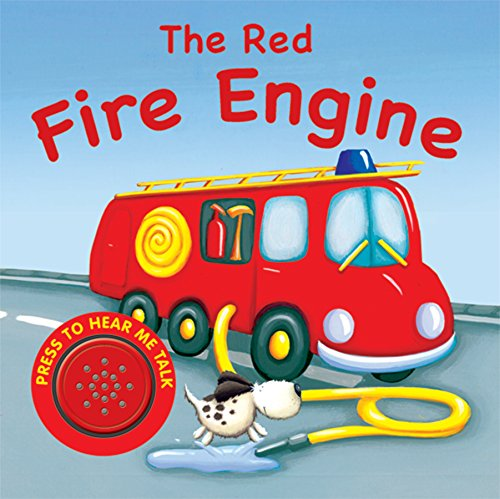 9781848177482: The Red Fire Engine (Funtime Sounds)