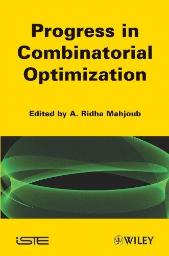 9781848212060: Progress in Combinatorial Optimization: Recent Progress