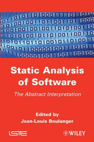 9781848213203: Static Analysis of Software: The Abstract Interpretation