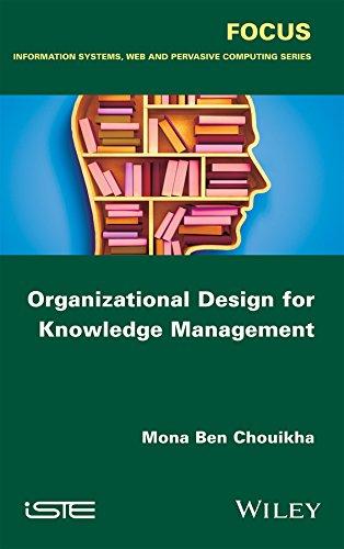 9781848219229: Organizational Design for Knowledge Management (Focus)