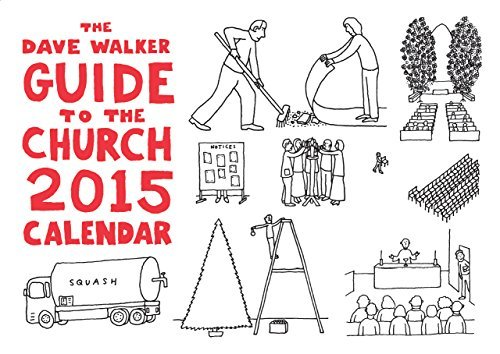 9781848256118: The Dave Walker Guide to the Church 2015 Calendar