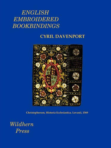 9781848300231: English Embroidered Bookbindings (Illustrated Edition)
