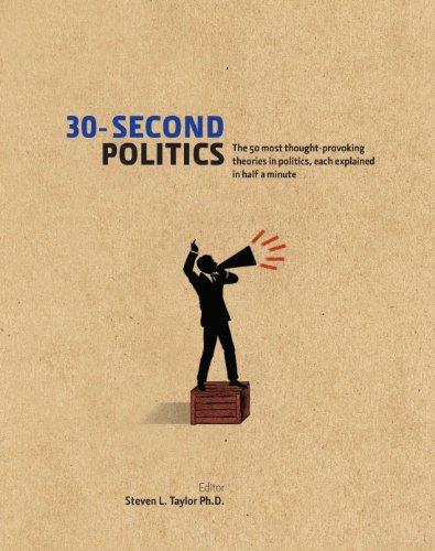 30-Second Politics: Taylor, Steven L