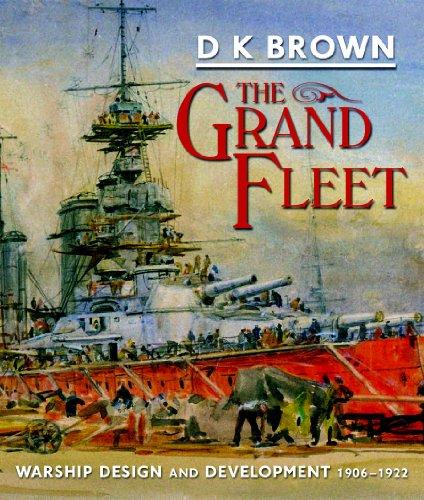 9781848320857: The Grand Fleet: Warship Design and Development, 1906-1922