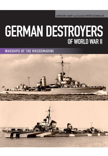 9781848321939: German Destroyers of World War II