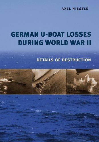 9781848322103: German U-Boat Losses During World War II: Details of Destruction