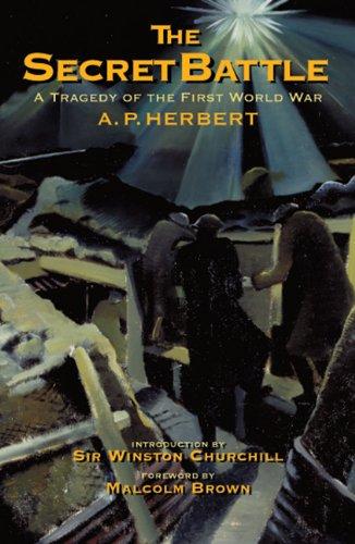9781848325210: Secret Battle: A Tragedy of the First World War