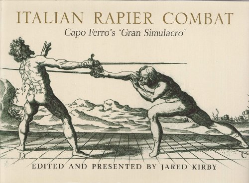 9781848326453: Italian Rapier Combat
