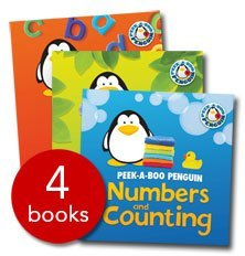 9781848357365: Peek a Boo Penguin Collection- 4 Books (Paperback)