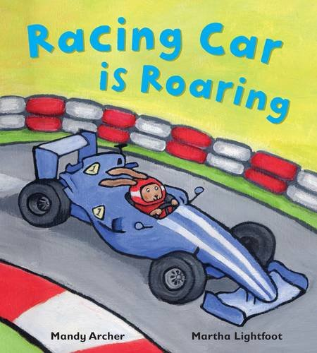 9781848358225: Racing Car is Roaring (Busy Wheels)