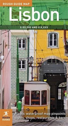 9781848361317: The Rough Guide to Lisbon Map 2 (Rough Guide Country/Region Map)