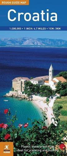 9781848365438: The Rough Guide to Croatia Map (Rough Guide Map: Croatia)