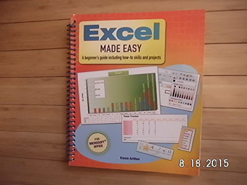 9781848373990: Excel Made Easy: A Beginner's Guide Including How-to Skills and Projects (For Microsoft Office)