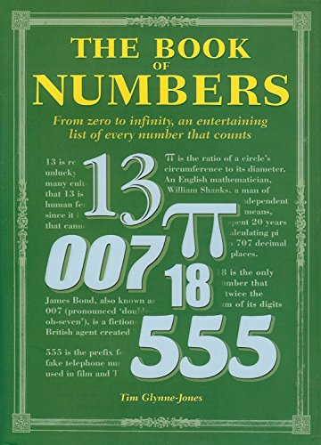 9781848379718: The Book of Numbers: From Zero to Infinity, an Entertaining List of Every Number that Counts