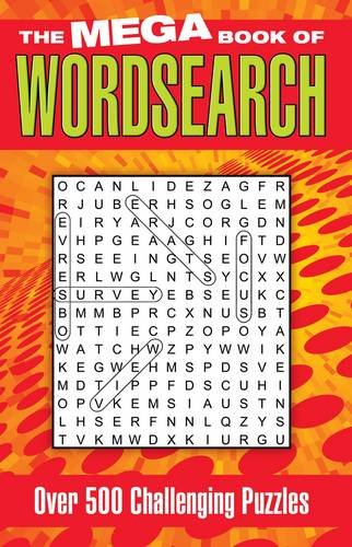 9781848379848: Mega Book of Wordsearch: Over 500 Challenging Puzzles