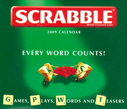 9781848381407: Scrabble Calendar 2009