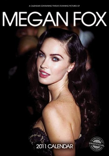9781848387034: Megan Fox 2011 Wall Calendar #RS6229-11