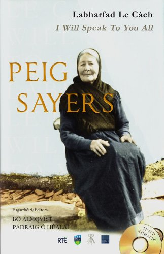 Peig Sayers: Labharfad le Cach - I Will Speak to You All (184840008X) by Peig Sayers