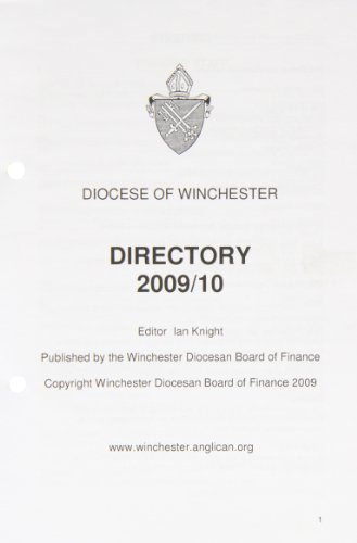 Winchester Diocesan Directory 2009/2010