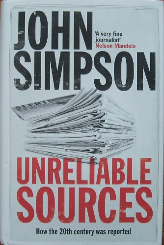 9781848418585: Unreliable Sources Signed Edition
