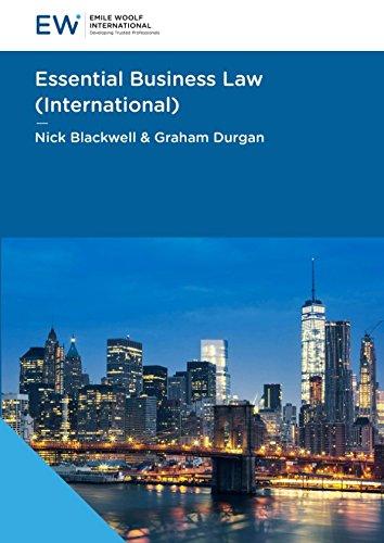 9781848437128: Essential Business Law (International)