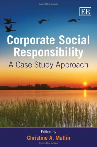 9781848440432: Corporate Social Responsibility: A Case Study Approach