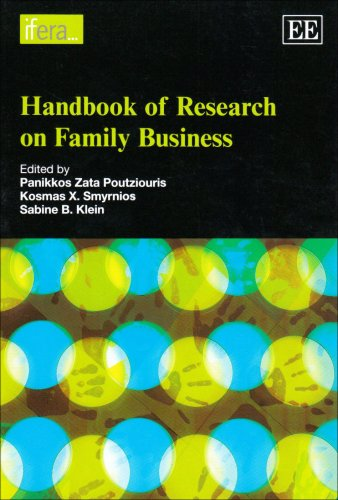 9781848440661: Handbook of Research on Family Business (Research Handbooks in Business and Management Series)