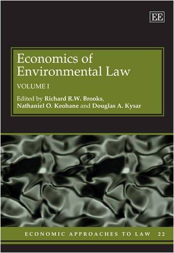 Economics of Environmental Law (Economic Approaches to Law): Edward Elgar Pub
