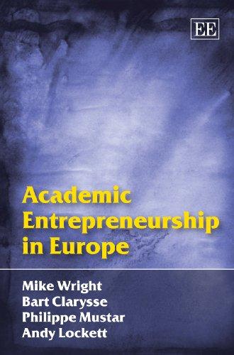 9781848441804: Academic Entrepreneurship in Europe