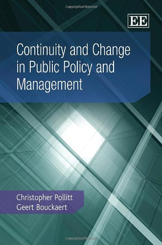 9781848443082: Continuity and Change in Public Policy and Management