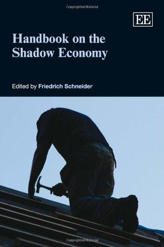 9781848443358: Handbook on the Shadow Economy