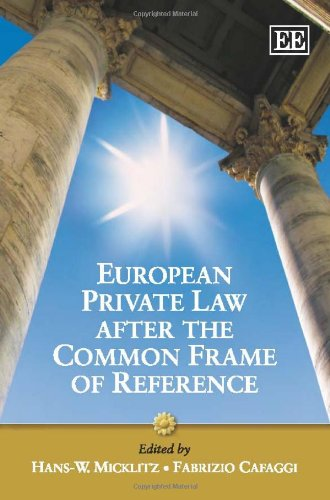 9781848444072: European Private Law After the Common Frame of Reference: What Future for European Private Law