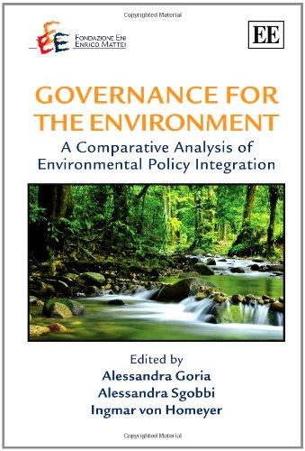 Governance for the Environment: Alessandra Goria