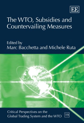 The WTO, Subsidies and Countervailing Measures (Critical Perspectives on the Global Trading System ...
