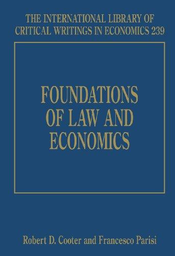 Foundations of Law and Economics (Hardback)