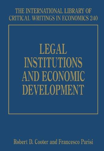Legal Institutions and Economic Development: Cooter, Robert D. (EDT)/ Parisi, Francesco (EDT)